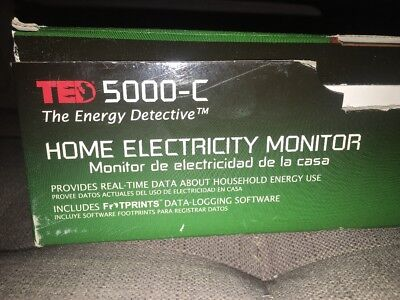 TED 5000-C The Energy Detective Electricity Monitor, Was $239.35