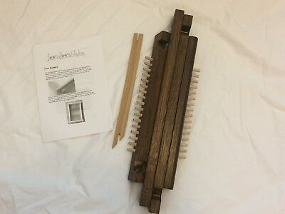Handmade Weaving Loom and Tool Pack and Warp plus Yarn Roving
