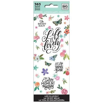 Life Is Lovely Planner Mambi Happy Planner Create 365 Sticker Book 363 Stickers