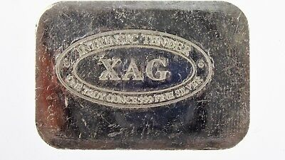Intrinsic Tender XAG 1oz Fine 999 Silver Bullion Bar