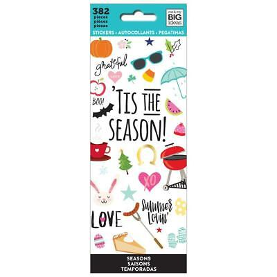 'Tis The Season Planner Mambi Happy Planner Create 382 Sticker Book 363 Stickers