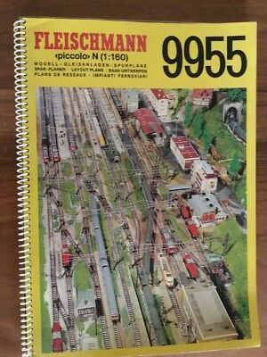 Fleischmann N Gauge Track Plan Catalogue