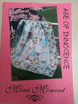 Age of Innocence Quilt Kit and Pattern