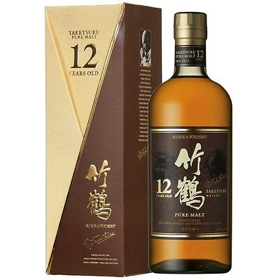Nikka Taketsuru 12 Year Old Japanese Whisky (With Box) - Now Discontinued!!