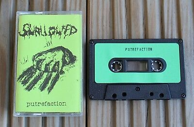 Swallowed - Putrefaction Demo Tape - Death Metal - Carcass - Excoriate - Vader