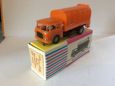 Skoda Refuse Truck By Permot, Vintage, Complete, Mint And Boxed