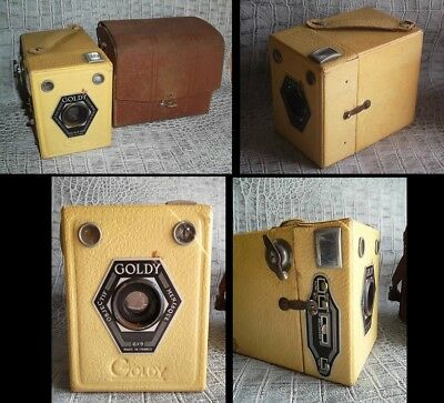 Ancien Appareils photo Goldy Made in France