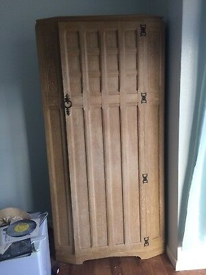 Beautiful Vintage Retro Art Deco Nouveau Style Wardrobe, Single Door