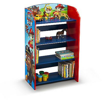 PAW PATROL Bedroom Furniture Set Boys Toddler Bed Room Toy Storage ...