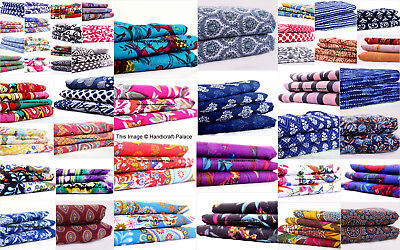 Textile Station Design 66  44 Wide Pure 100/% Indian Print Soft Touch Cotton Dressmaking Crafting Fabric