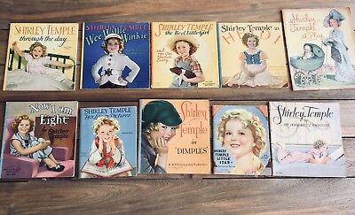 Collectable Shirley Temple Books