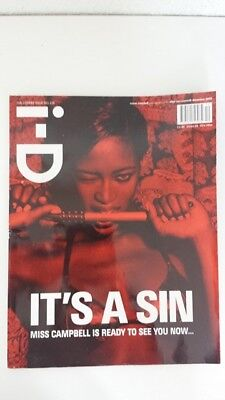 ID MAGAZINE December 2003 The Lovers Issue 238 - Naomi Campbell