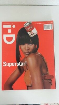 ID MAGAZINE February 2003 The Artistic Issue 228 - Naomi Campbell