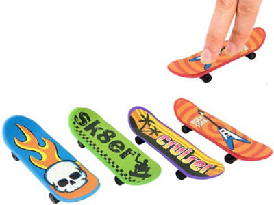 6 Finger Skateboards - Pinata Toy Loot/Party Bag Fillers Wedding/Kids Boys