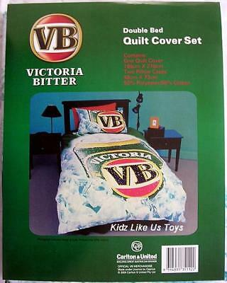 ~ VB Victoria Bitter- DOONA /QUILT COVER (Ice) - Double
