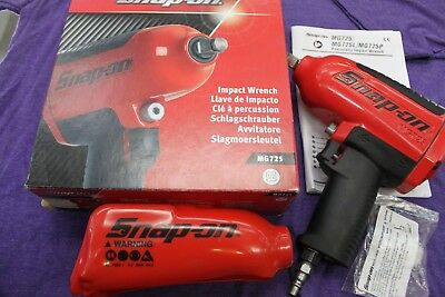 "Snap-on MG725 1/2"" Drive Heavy-Duty Air Impact Wrench MINT! used 2 times"