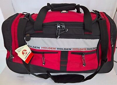 ~ Holden LARGE TROLLEY BAG on WHEELS LUGGAGE SUITCASE GYM OVERNIGHT TRAVEL