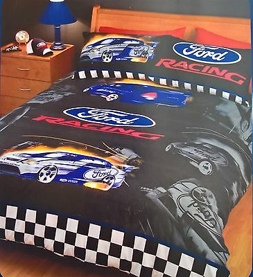 Ford Racing Single Doona Quilt Duvet Cover Set Falcon Few Remaining