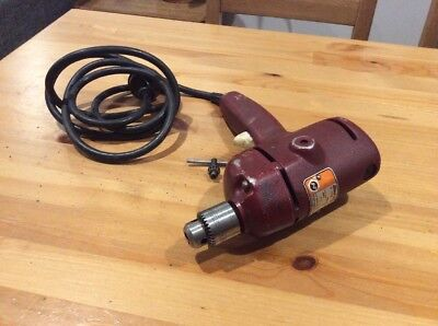 Vintage Black And Decker Drill; Type N6; Works; Made In Australia