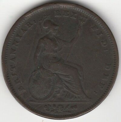 1825 George IV One Penny***Collectors***