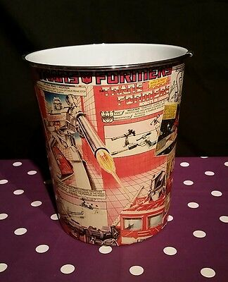 Marvel comic covered  Children''s Bedroom Waste Paper Bin