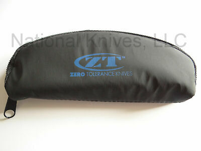 Zero Tolerance Knife Zipper Pouch Travel Case, ZT-POUCH - Authorized Dealer