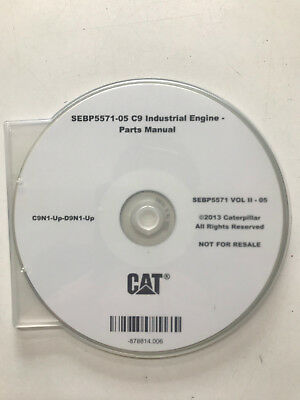 Caterpillar C9 industrial Engine parts manual