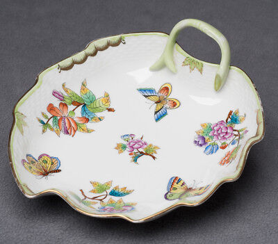 "Herend Queen Victoria 8"" Leaf Dish 7752"