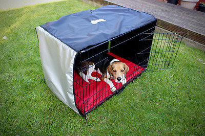 Heat Reflective Dog Crate/Cage Covers - Various sizes