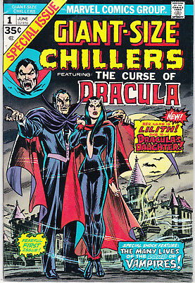 GIANT SIZE CHILLERS 1 - 1st APP LILITH (BRONZE AGE 1974) - 7.5