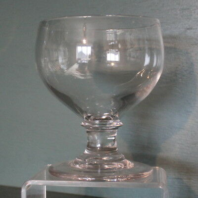 Very Large Clear Glass Rummer