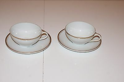 Pair of Royalton China Co Fine China Golden Elegance Coffee Cup & Saucer L#1469