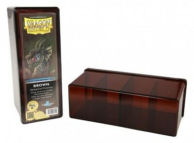 Dragon Shield - 4 Compartment Storage Box Brown - Cards Box