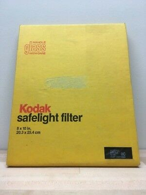 Kodak OC Darkroom Safelight Filter 8x10-Unused in Package