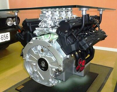 Maserati Quattroporte III 4.9l - Engine coffee table