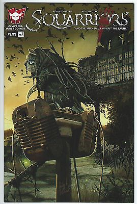 Squarriors Volume 2 #1 May 2016 Devil's Due/1First Comics Good+ Condition