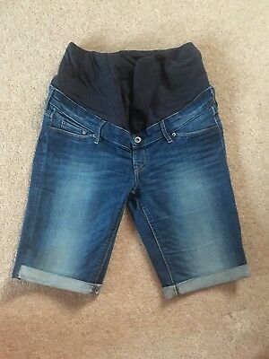 H&M MAMA Maternity Shorts Size 10 Over Bump