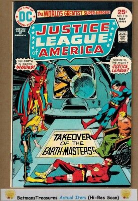 Justice League of America #118 (9.0) VF/NM 1975 Bronze Age Key Issue