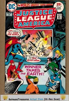 Justice League of America #119 (9.2) NM- 1975 Bronze Age Key Issue
