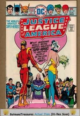 Justice League of America #121 (9.0-9.2) NM- Adam Strange 1975 Bronze Age Key