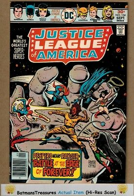 Justice League of America #134 (9.2) NM- Supergirl 1976 Bronze Age Key Issue