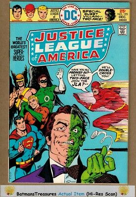 Justice League of America #125 (9.2) NM- Two-Face App 1975 Bronze Age Key Issue