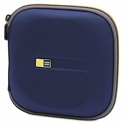 24 Capacity CD/DVD Cases (Blue) Case Logic Storage CD Packaging Accessories