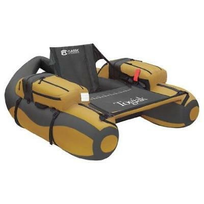 Classic Accessories Togiak Inflatable Fishing Float Tube With Backpack Straps