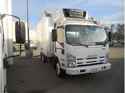 Isuzu NQR 16ft Refrigerated FREEZER ICE CREAM Truck nrr npr Hino  ud gmc reefer