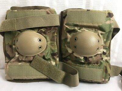 US Military Issue BPE Multicam Scorpion OCP Camouflage Sz Med  Elbow Pads NEW