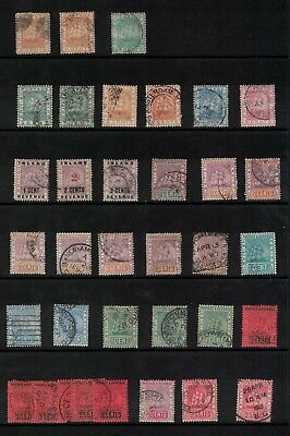 British Guiana Stamps, 1870s onwards Cwn CC / Cwn CA - victoria era better noted