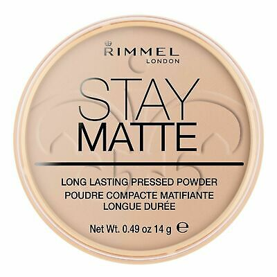 Rimmel Stay Matte Long Lasting Pressed Powder - Choose Silky or Warm Beige