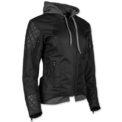 Speed and Strength Women's Double Take Textile/Leather Jacket