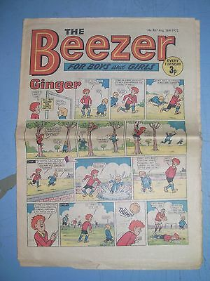 Beezer issue 867 dated August 26 1972